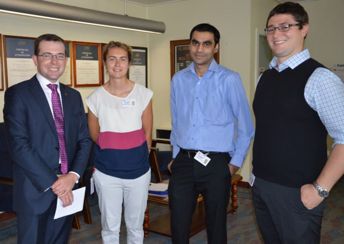 THREE NEW MEDICAL INTERNS WELCOMED TO ARMIDALE TO START WORK