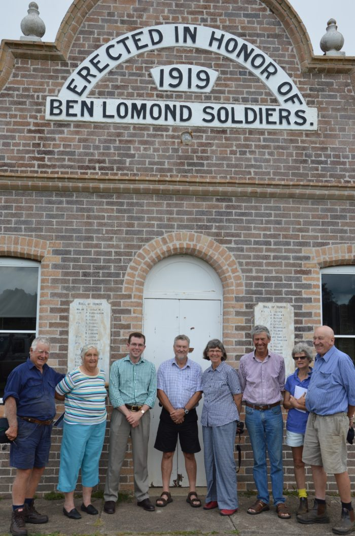 BEN LOMOND COMMUNITY READY TO UPGRADE HALL WITH $66,450 GRANT