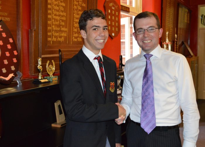 INVERELL STUDENT TO ENTER PARLIAMENTARY BEAR PIT THIS YEAR