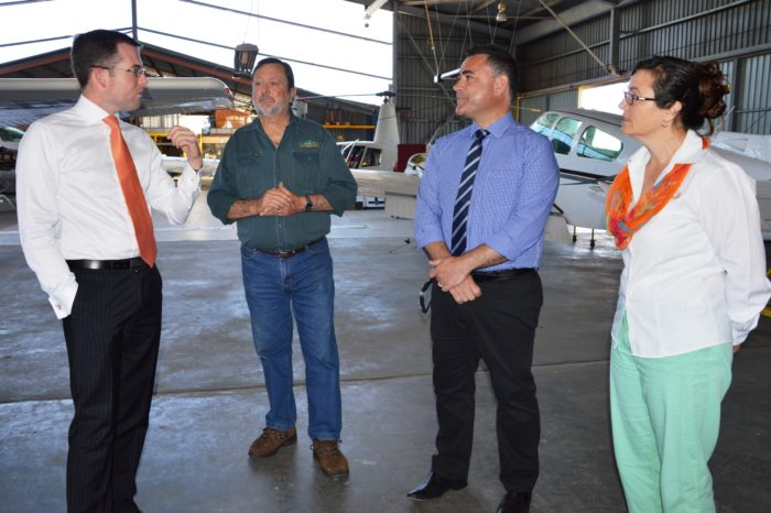 MINISTER GETS FIRST HAND LOOK AT NSW BUSINESS OF THE YEAR
