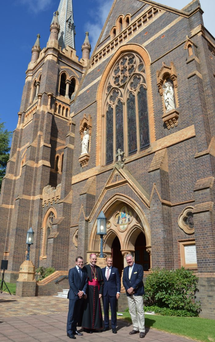 HERITAGE LISTING FOR ST MARY AND ST JOSEPH CATHEDRAL