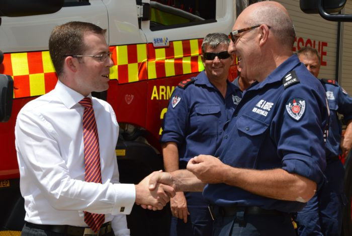 NEW FIRE TRUCK HITS THE ROAD IN ARMIDALE