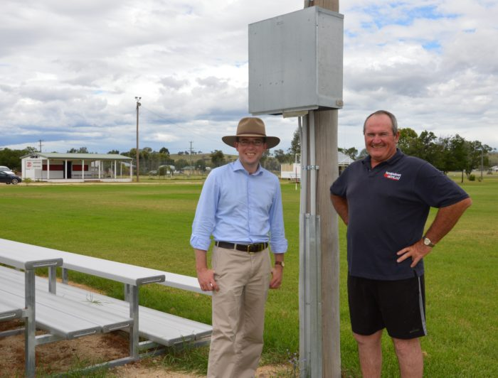 ASHFORD RUGBY LEAGUE CLUB POWERS ON WITH $5,500 GRANT