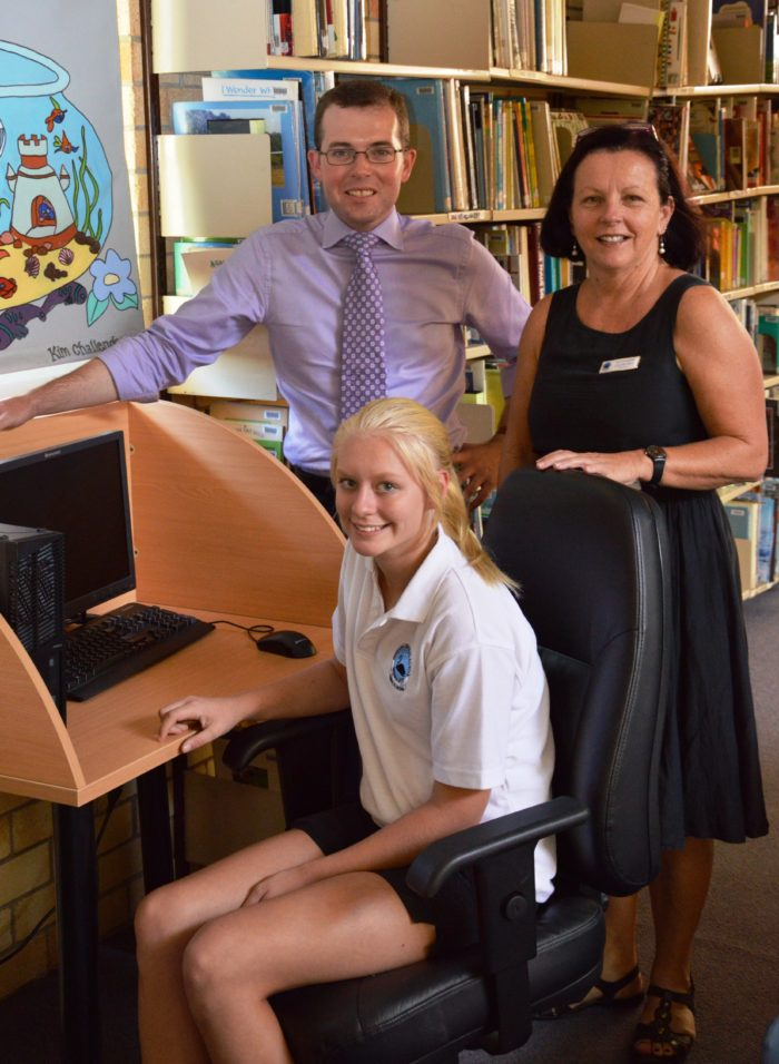 BINGARA CENTRAL STUDENT ENJOYING AURORA ONLINE SCHOOLING