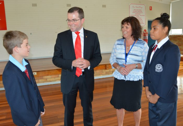 DRUMMOND PS BENEFITS FROM HOLIDAY WORKS & GONSKI EDUCATION REFORMS