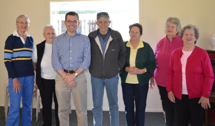 $17,980 FOR FURTHER IMPROVEMENTS TO GLENCOE COMMUNITY HALL