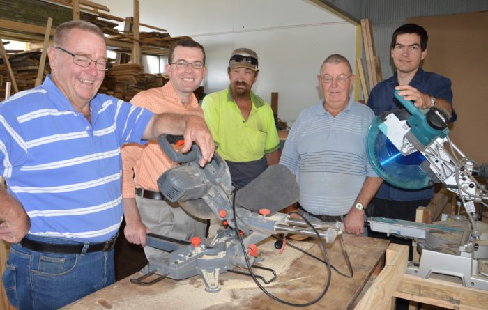 TOOL TIME WITH $12,000 FUNDING AT GUYRA MEN'S SHED