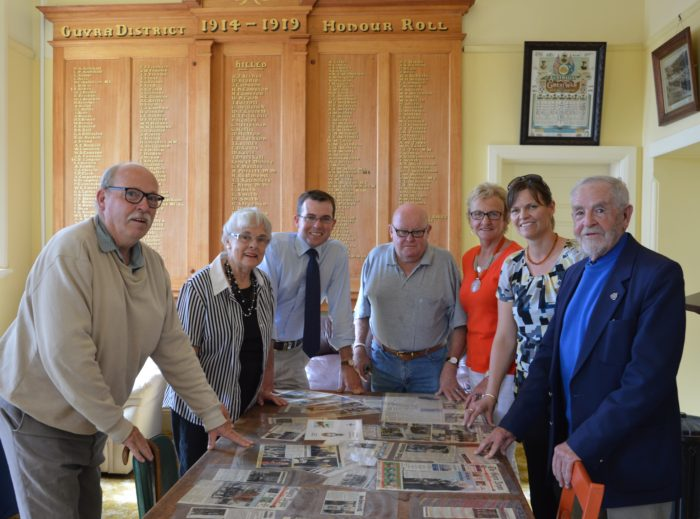 $19,139 TO REPAIR ROOF OF GUYRA WAR MEMORIAL HALL