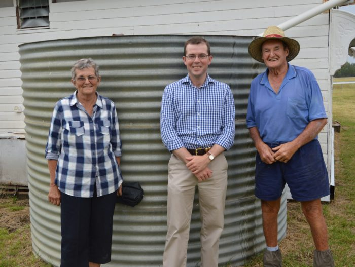 $2,500 FOR NEW WATER TANK AT WARIALDA RACECOURSE