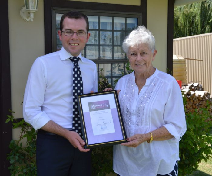 COLLEEN GRAHAM NAMED NORTHERN TABLELANDS LOCAL WOMAN OF THE YEAR