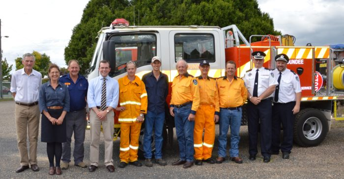 GLEN INNES DISTRICT RURAL FIRE SERVICE VOLUNTEERS HONOURED