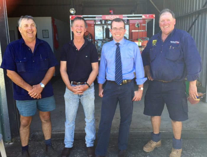 $20,000 TO UPGRADE MATHESON RURAL FIRE SERVICE STATION