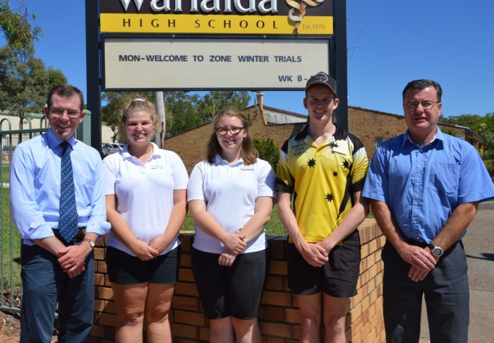 $250,000 REFURBISHED AMENITIES BLOCK FOR WARIALDA HIGH SCHOOL