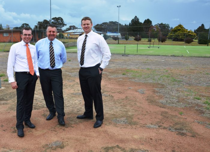 $25,000 FOR NEW MULTI-PURPOSE COURTS AT URALLA SPORTS COMPLEX