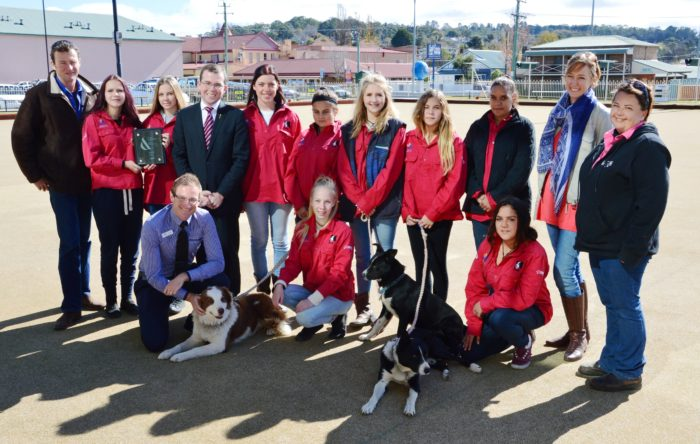 ARMIDALE CLUB COMMENDED FOR ITS WORK WITH BACKTRACK