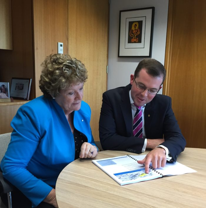 HEALTH MINISTER CONFIRMS HOSPITAL REDEVELOPMENTS WILL PROCEED