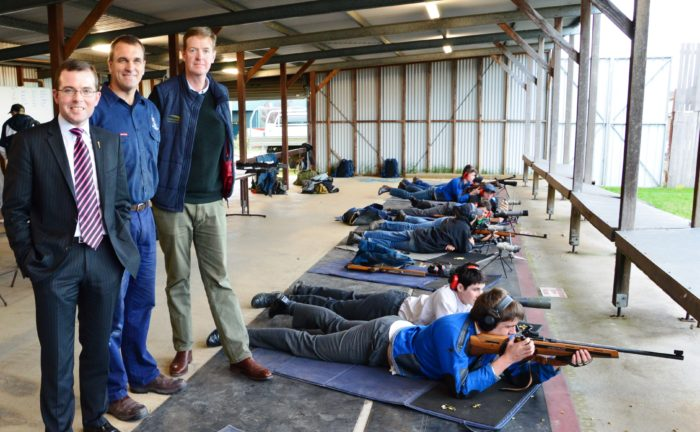 ARMIDALE SCHOOL RECEIVES FUNDING FOR SHOOTING RANGE UPGRADE
