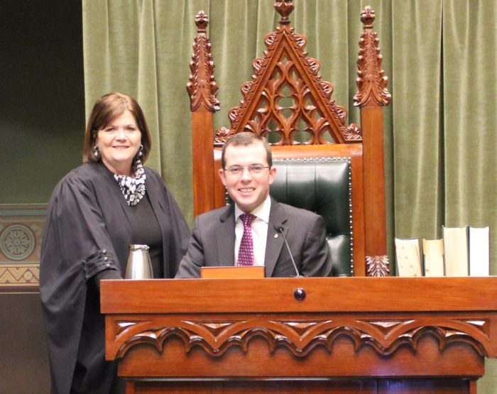 MARSHALL MAKES RETURN TO ACTING SPEAKER'S ROLE IN PARLIAMENT
