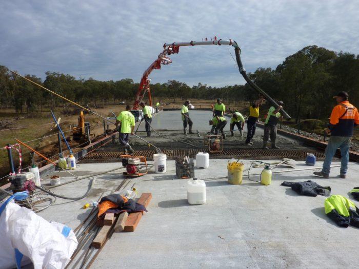 BUNDARRA'S NEW EMU CROSSING BRIDGE NEARING COMPLETION