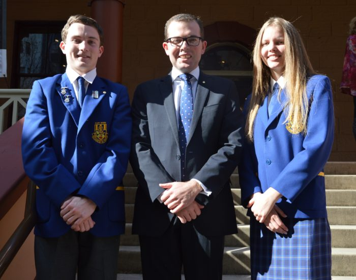 GLEN INNES HIGH SCHOOL LEADERS TOUR STATE PARLIAMENT