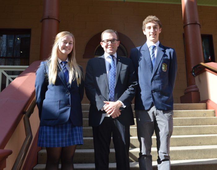 GUYRA CENTRAL SCHOOL LEADERS TOUR STATE PARLIAMENT