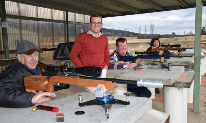 GUYRA SSAA RECEIVES $2,030 FOR RANGE UPGRADE