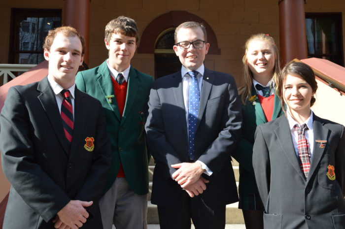 INVERELL SCHOOL LEADERS TOUR STATE PARLIAMENT