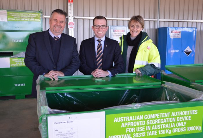 URALLA'S COMMUNITY RECYCLING CENTRE OFFICIALLY OPENED