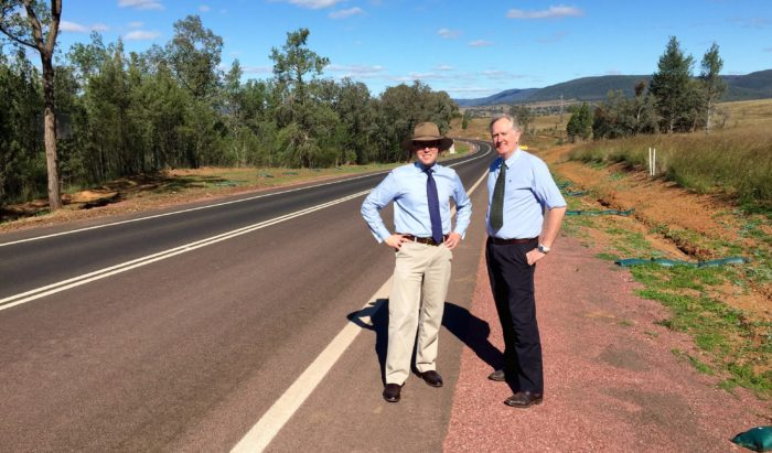 MARSHALL COMMENDS GWYDIR SHIRE ON MAJOR ROAD WORKS