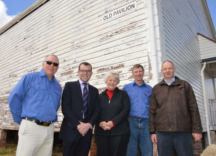 $27,265 TO UPGRADE GLEN INNES SHOWGROUND BUILDINGS