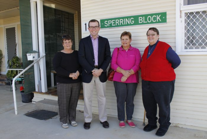 $25,606 SECURED FOR MOREE AGED CARE UNITS