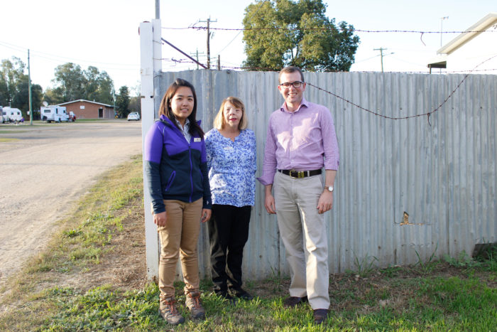 FUNDING FOR NEW PERIMETER FENCE AT MOREE SHOWGROUND