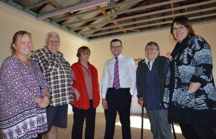 ADDITIONAL FUNDING FOR MORE IMPROVEMENTS TO GILGAI PUBLIC HALL