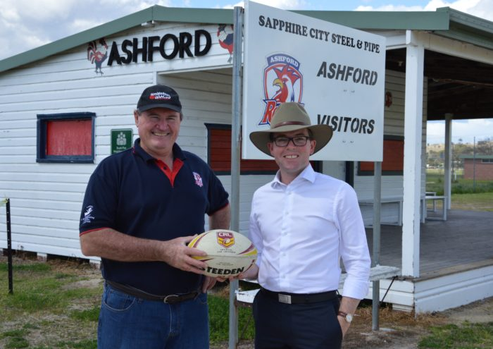 $75,000 BOOST FOR MAJOR UPGRADE OF ASHFORD RUGBY LEAGUE HOME GROUND