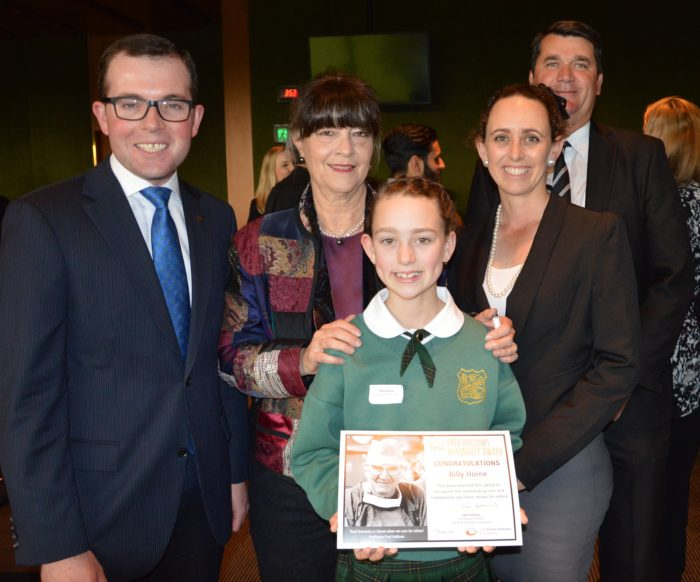 LOCAL STUDENTS HONOURED WITH FRED HOLLOWS HUMANITY AWARDS