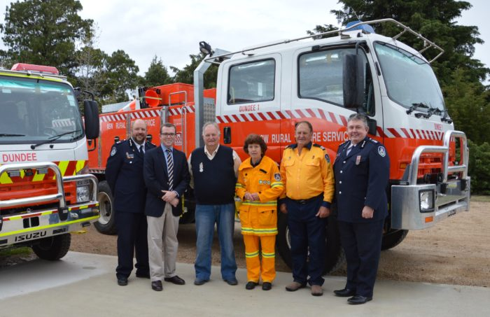 NEW TANKER FOR DUNDEE RURAL FIRE SERVICE BRIGADE