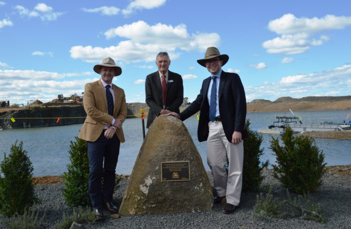 $1 MILLION GLEN INNES OFF-STREAM WATER STORAGE OPENED BY MINISTER