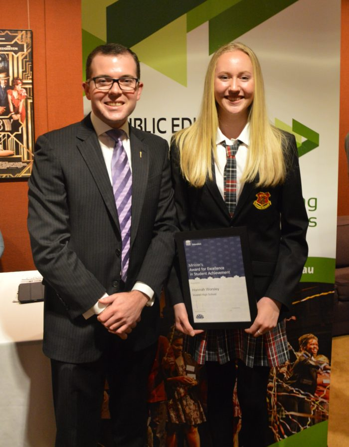 INVERELL STUDENT HANNAH WORSLEY RECOGNISED FOR HER ACHIEVEMENTS