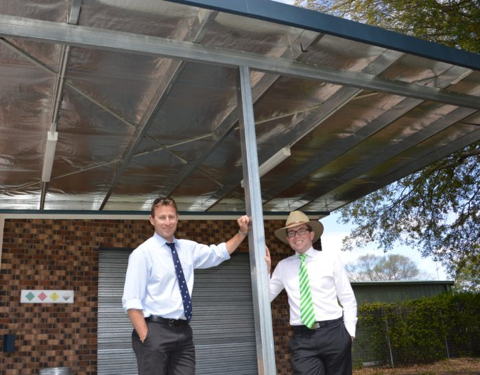 NEW SUN PROTECTION INSTALLED FOR INVERELL POOL USERS