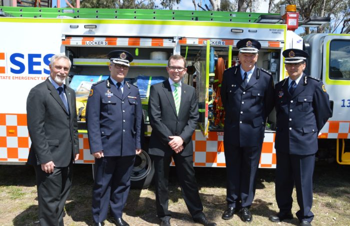 INVERELL & ASHFORD SES UNITS RECEIVE NEW STORM RESPONSE VEHICLES