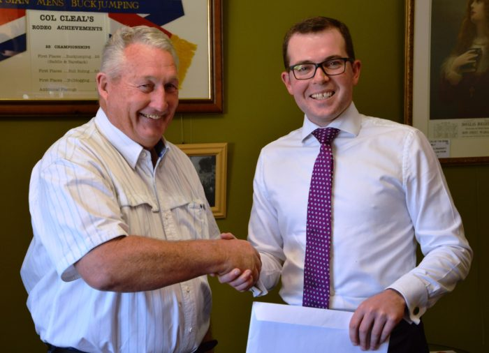 WARIALDA RECEIVES HELP FROM PREMIER TO HOST SHEARING CHAMPIONSHIPS