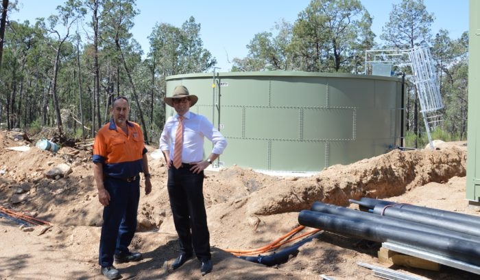 $600,000 UPGRADE TO DELIVER FRESH WATER FOR ALL COPETON DAM USERS
