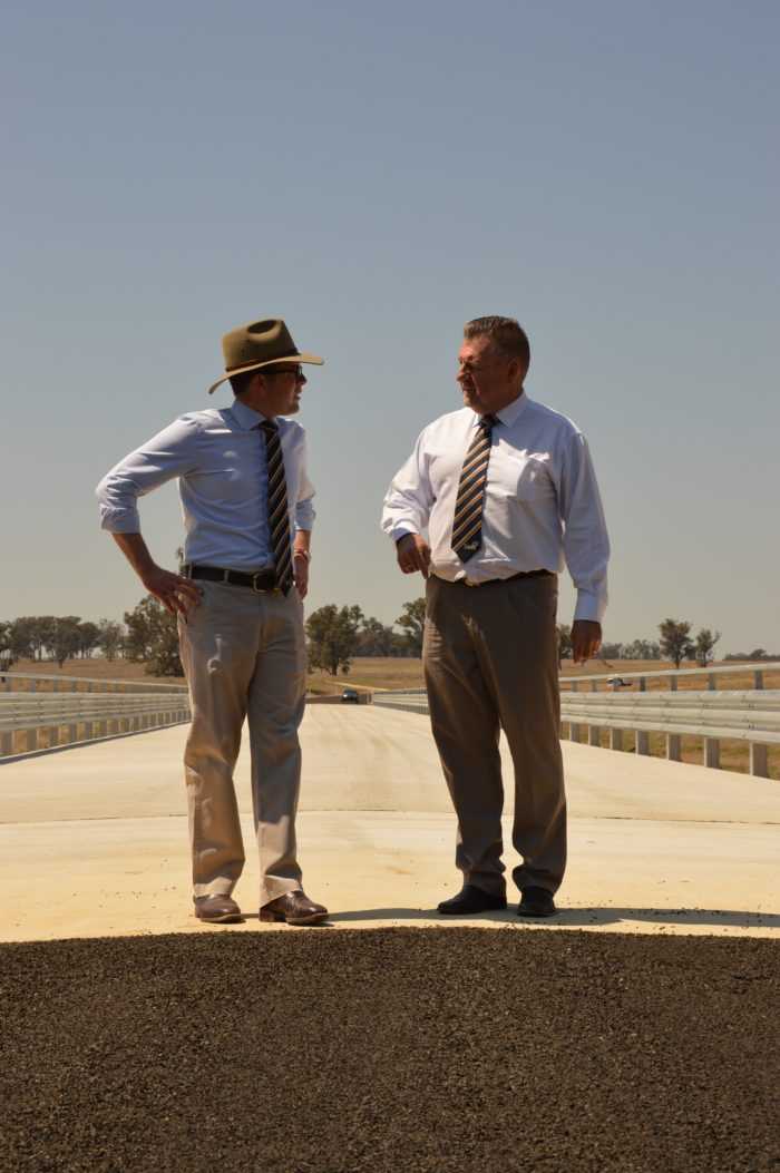 NEW $4M EMU CROSSING BRIDGE COMPLETED AND OPEN TO TRAFFIC