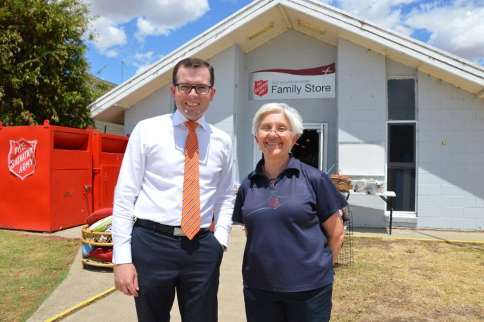 FUNDING BOOST FOR MOREE SALVATION ARMY'S FINACIAL COUNSELLING SERVICE