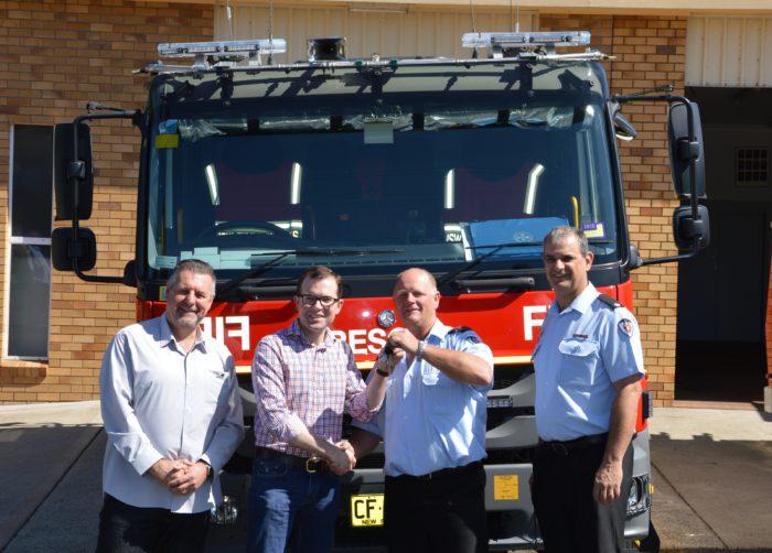 NEW $450,000 RESCUE TANKER FOR URALLA FIRE & RESCUE STATION