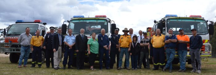 NEW TANKERS FOR YETMAN & GILGAI RURAL FIRE SERVICE BRIGADES