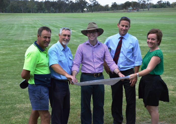 UPGRADE OF INVERELL SPORTING COMPLEX RECEIVES MP'S BACKING