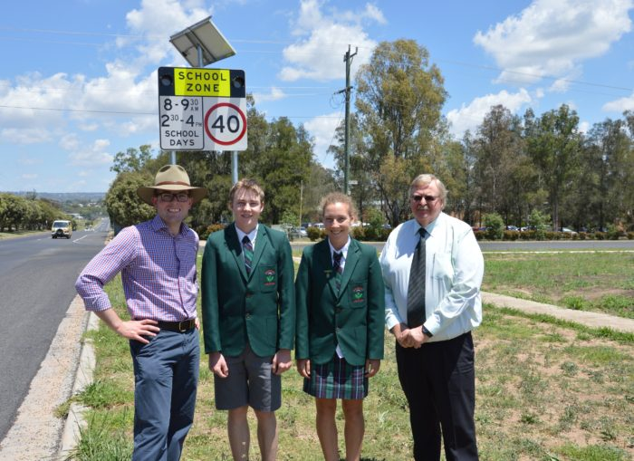 LIGHTS NOW FLASHING AT EVERY SCHOOL IN THE NORTHERN TABLELANDS