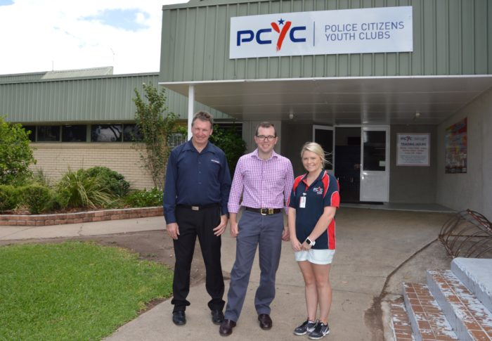 $17,042 SECURED FOR ROOF REPAIRS AT MOREE PCYC