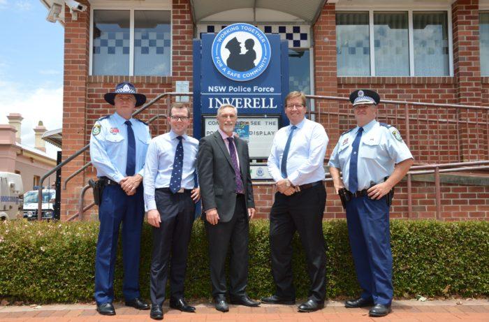 DEPUTY PREMIER VISITS INVERELL & ARMIDALE POLICE STATIONS